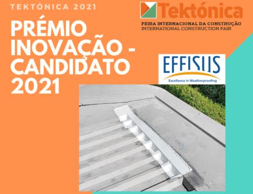 Candidato a Prémio Inovação Tektónica 2021 – Effisus com Effisus Bond FT